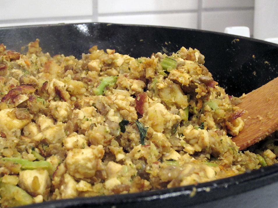 tofu potato veggie taco filling concoction