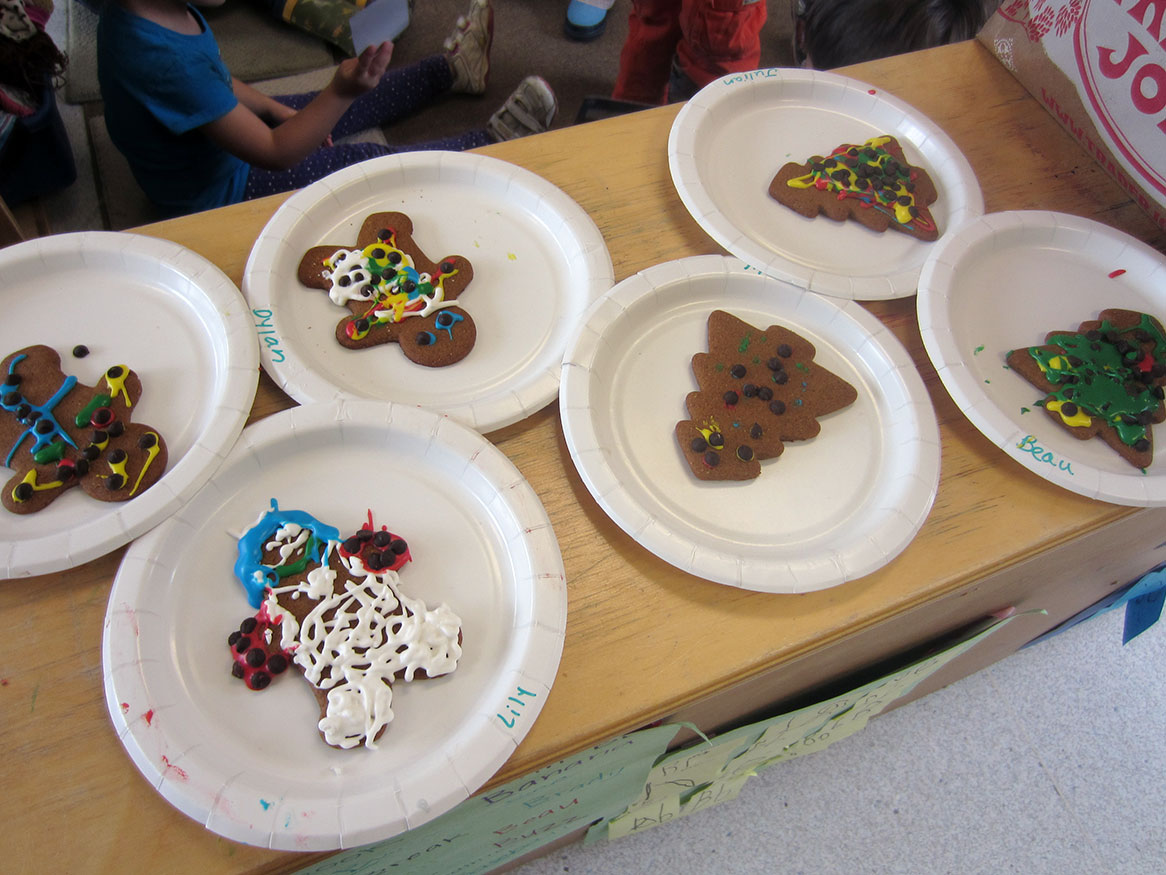 preschool gingerbread masterpieces