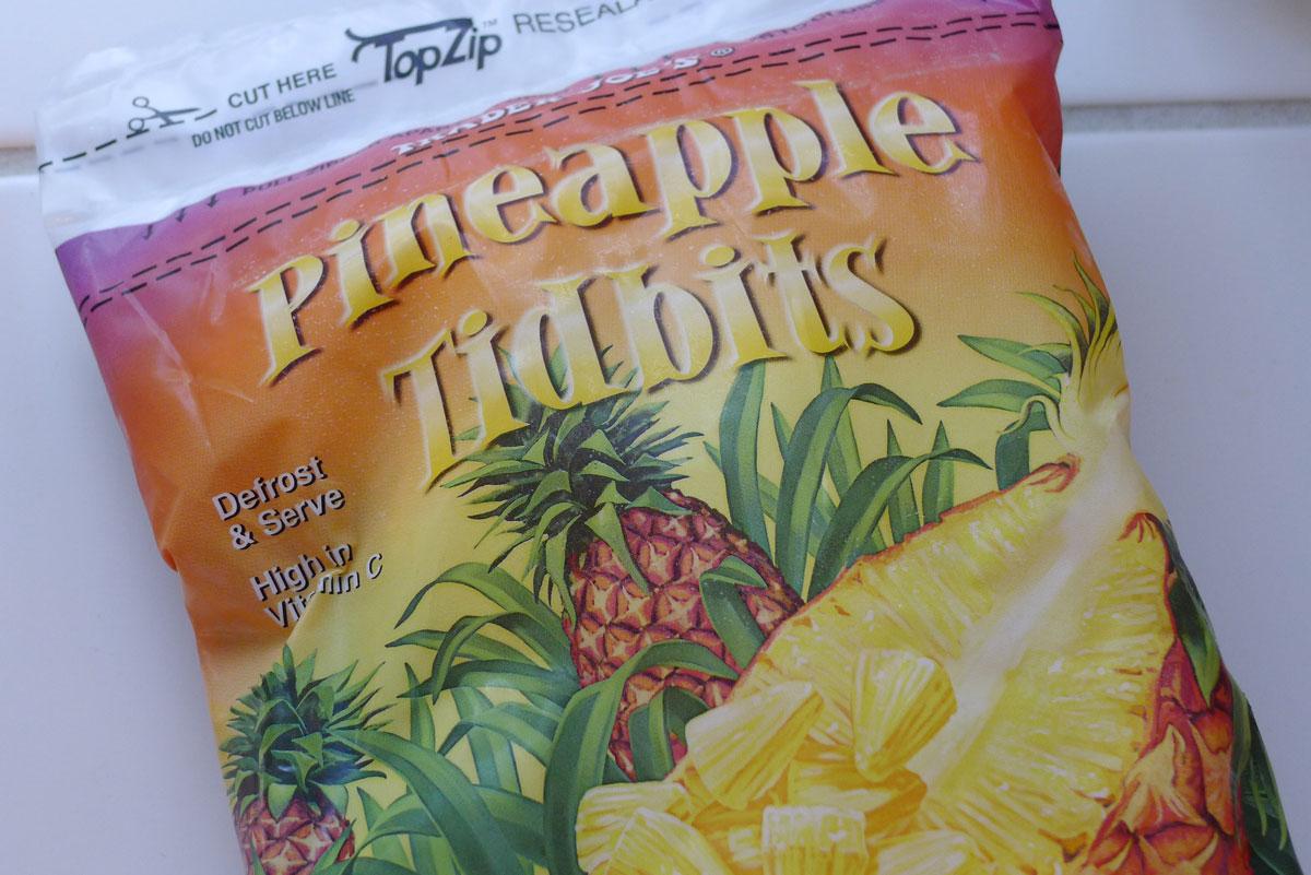 frozen pineapple