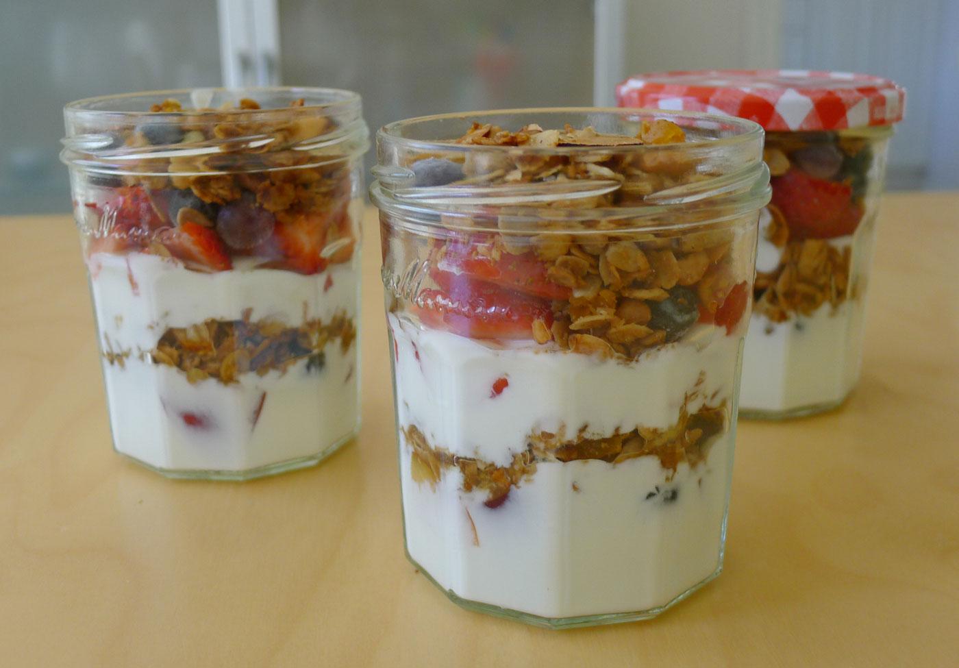 yogurt parfaits