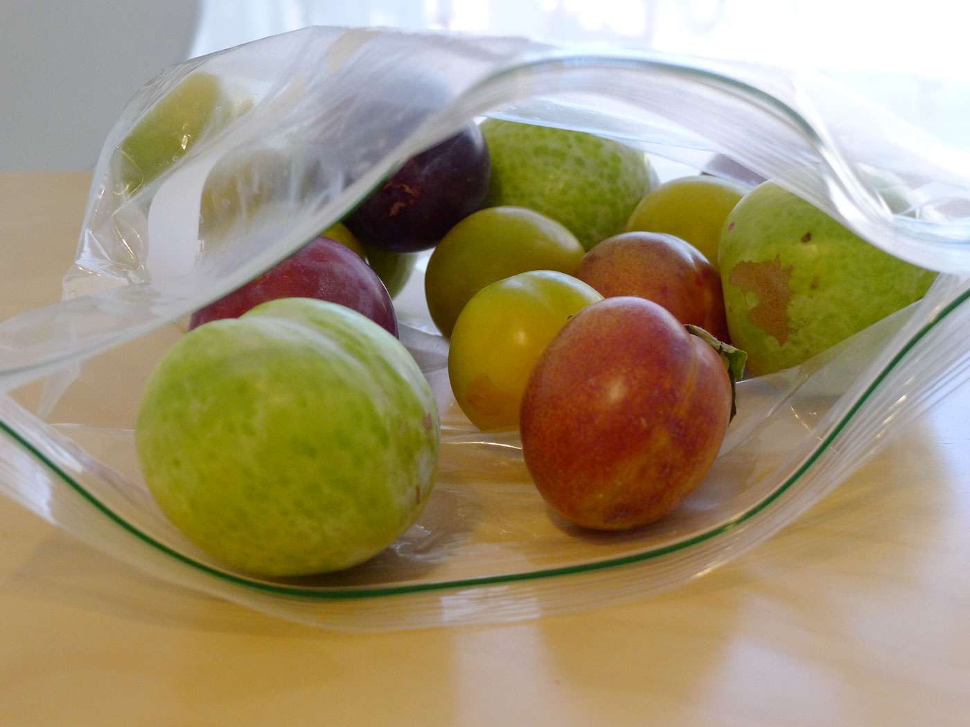 Bag of Plums and Pluots