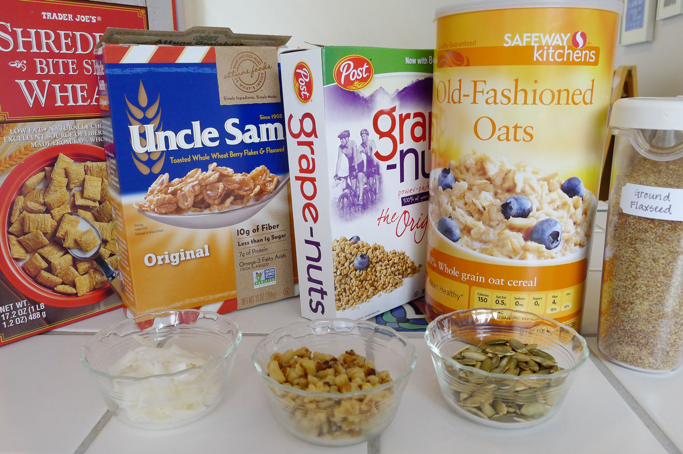 healthy cereal mix ingredients